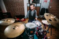 zespół muzyczny; Marek Jakuszak; perkusja;