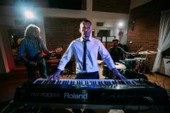 zespół muzyczny; Tomasz Małachowski; instrumenty klawiszowe;